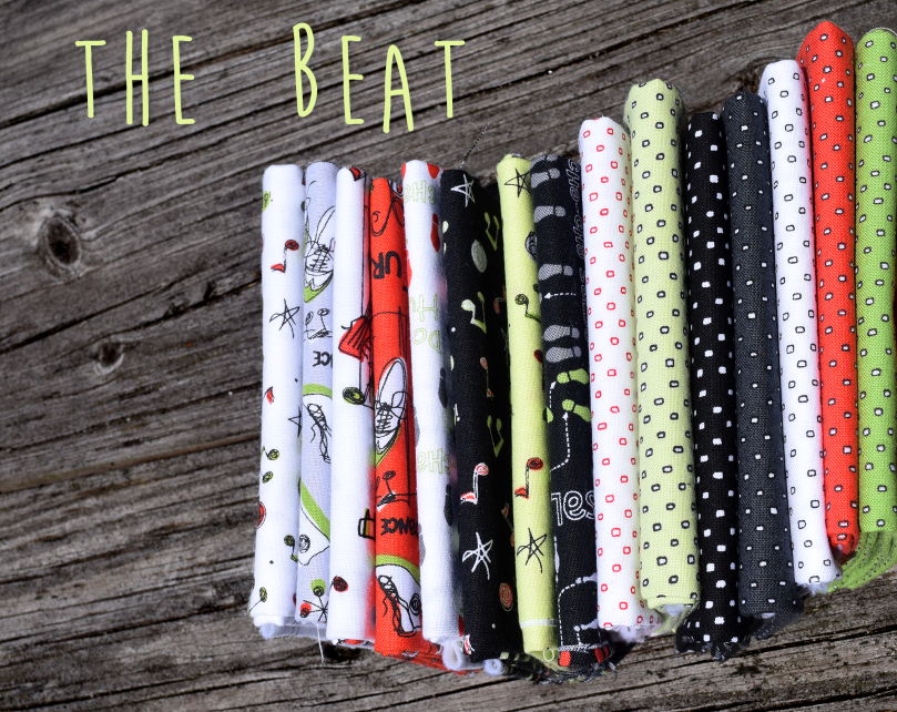 The Beat, fat quarter 1